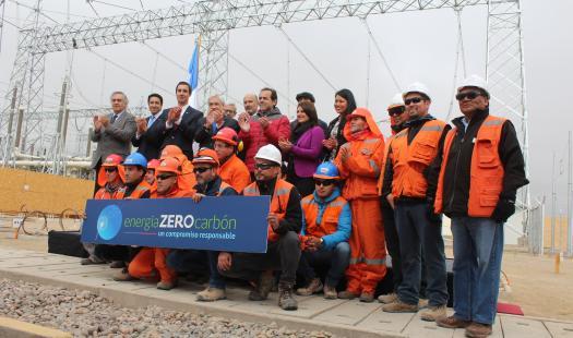 Presidente Piñera junto a ministro Jobet inaugura carretera eléctrica Cardones-Polpaico que permitirá trasladar la energía renovable del norte a la zona centro-sur