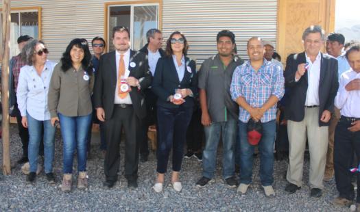 """Seremi de Energía Presente en Inauguración de Cooperativa de Productos agrícolas deshidratados """"VitorSol"""""""