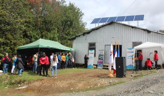 Llaman a vecinos de la región a postular al Fondo de Acceso a la Energía para obtener soluciones energéticas en zonas aisladas