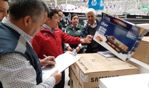 Seremi de Energía y SEC fiscalizan venta de parrillas previo inicio de Fiestas Patrias