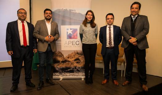 """Seremi de Energía y Pro Chile desarrollaron  seminario """"Proyectando las ciudades de la Región de Antofagasta hacia la Sustentabilidad"""""""