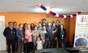 Vecinos de Villa Hermosa participan en charla de seguridad eléctrica y combustibles