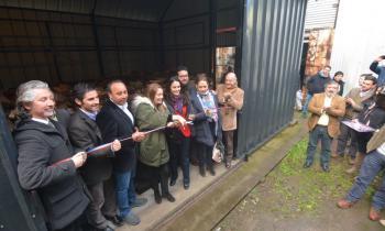 Inauguran leñería de Sindicato de Pesca Artesanal de Coronel