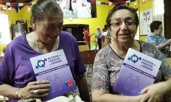 Vecinas del Maule conmemoraron el Día de la Mujer