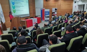 """Seremi de Energía y UCSC  realizan seminario """"""""Calefacción Sustentable a partir de la Biomasa"""""""