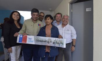 Familias de Alto Hospicio recibieron viviendas con Sistemas Solares Térmicos