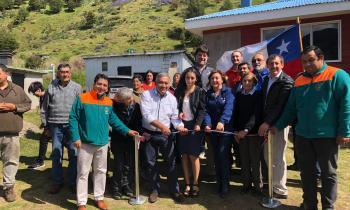 Extensión de red eléctrica favorece a 25 familias del sector Vado Millar