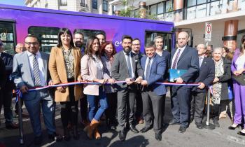 Autoridades de Gobierno y Enel X presentan primer bus eléctrico para la Región de Antofagasta que tendrá recorrido gratuito al servicio de la comunidad