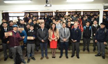 Programa Cambia el Foco benefició a 615 estudiantes y comunidad del Liceo Industrial de Valdivia