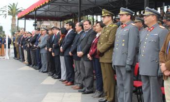 Conmemoración Natalicio de Bernardo O'Higgins en Arica