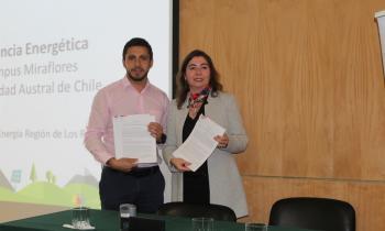 Seremi de Energía firma convenio de Eficiencia Energética con la UACh