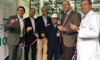 Autoridades inauguran nueva sala de calderas de la Clínica Alemana de Osorno que se abastecerá con gas natural...