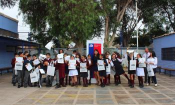 Con capacitación en Escuela Las Canteras celebraron el Día Mundial de la Eficiencia Energética en Atacama