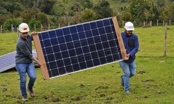 Comienzan trabajos de electrificación en Punta Capitanes