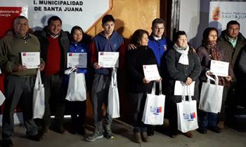 Vecinos recibieron kit y capacitación en Eficiencia Energética