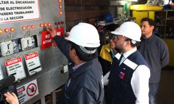 Fiscalizan instalaciones eléctricas y de gas en la Pampilla de Coquimbo