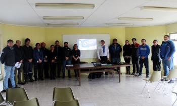Organizaciones deportivas de Punta Arenas se capacitaron para postular al Fondo de Acceso a la Energía