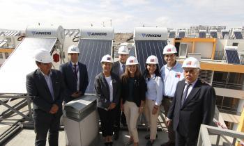 Energía solar en viviendas sociales de Alto Hospicio