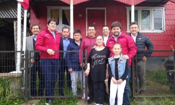 Autoridades visitan a paciente electrodependiente de Llanquihue y explican los beneficios del convenio entre el Gobierno y empresas eléctricas