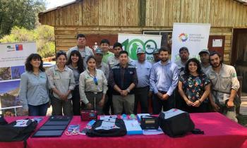 Seremi de Energía entrega a CONAF kits de energía solar para generación de energías limpias