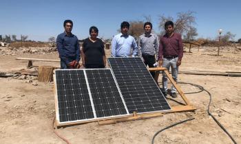 Jóvenes se suman a gestión de Energía para ir en ayuda de vecina de La Huayca