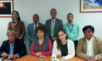 Seremi de Energía se reunió con la Comisión de Sustentabilidad y Relaciones Internacionales del CORE