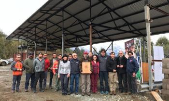 Inauguran centro de acopio de leña que aumentará la oferta en la comuna de Palena