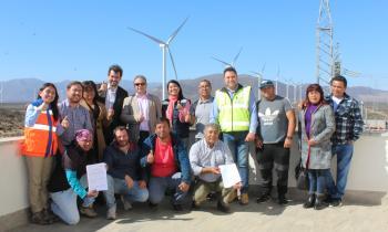 Parque Eólico Cabo Leones I firma protocolo de entendimiento con la Comunidad Caleta de Los Burros Sur