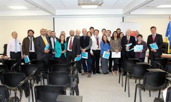 Funcionarios del Poder Judicial de Punta Arenas se capacitaron sobre eficiencia energética