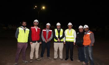 Seremi de Energía Arica Inspecciona recambio de luminarias en la ciudad
