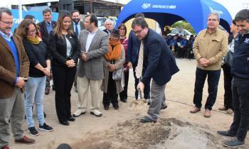 Seremi de Energía presente en Ceremonia colocación de 1ª Piedra en Obras de Confianza Barrio Puerta Norte Conc...