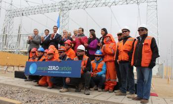 Presidente Piñera junto a ministro Jobet inaugura carretera eléctrica Cardones-Polpaico que permitirá traslada...