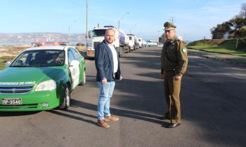 Camiones con combustibles parten a abastecer servicentros del Valle de Elqui