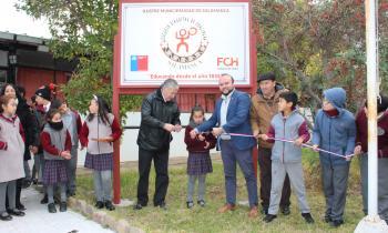 Ministerio de Energía estrena recambio de iluminación LED en escuela de Chalinga