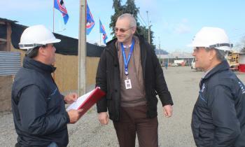 Autoridades fiscalizan instalaciones eléctricas y de gas en fondas de Puerto Montt