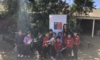 Seremi de Energía de Valparaíso enseña a niños de primero básico sobre eficiencia energética