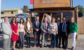 Locatarios de Peñuelas usan energía solar gracias a alianza con Sercotec