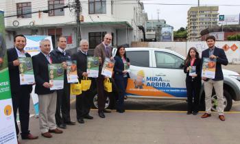 Seremi de Energía se suma a la campaña Mira para Arriba que busca evitar accidentes eléctricos en la región