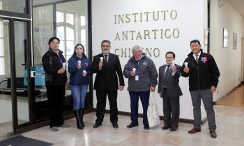 INACH inicia recambio de luminarias LED con soporte técnico de Energía Magallanes