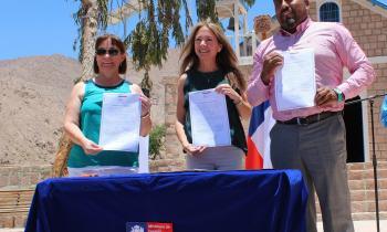 Ministra anuncia construcción de proyecto de energía para Macaya