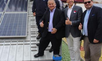 Seremi de Energía de Arica y Parinacota Asiste a Inauguración de Patio Fotovoltaico