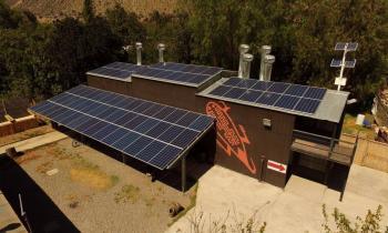 Energía solar para producción...