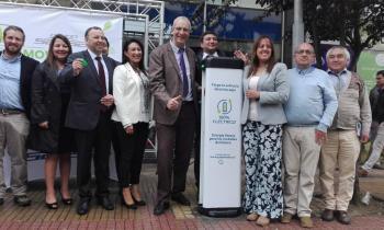 Seremi de Energía participa en inauguración del primer punto de carga de autos eléctricos en Osorno