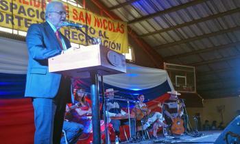 Ministro visitó San Nicolás pa...