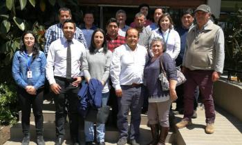 Productores y comercializadores de leña aprenden técnicas de secado y desarrollo empresarial