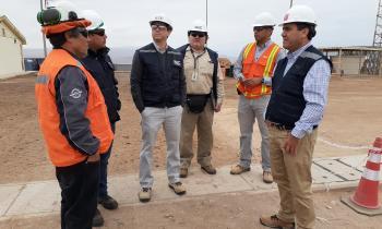 Seremi de Energía visita a Instalaciones de Energía Eléctrica de la Región